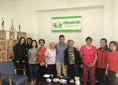 Voyageurs chez agence locale Vietnam Dragon Travel  (21)