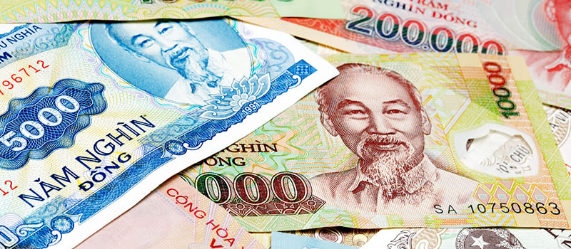 Argent, budget et change au Vietnam