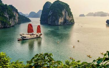 Jonque luxe baie Halong